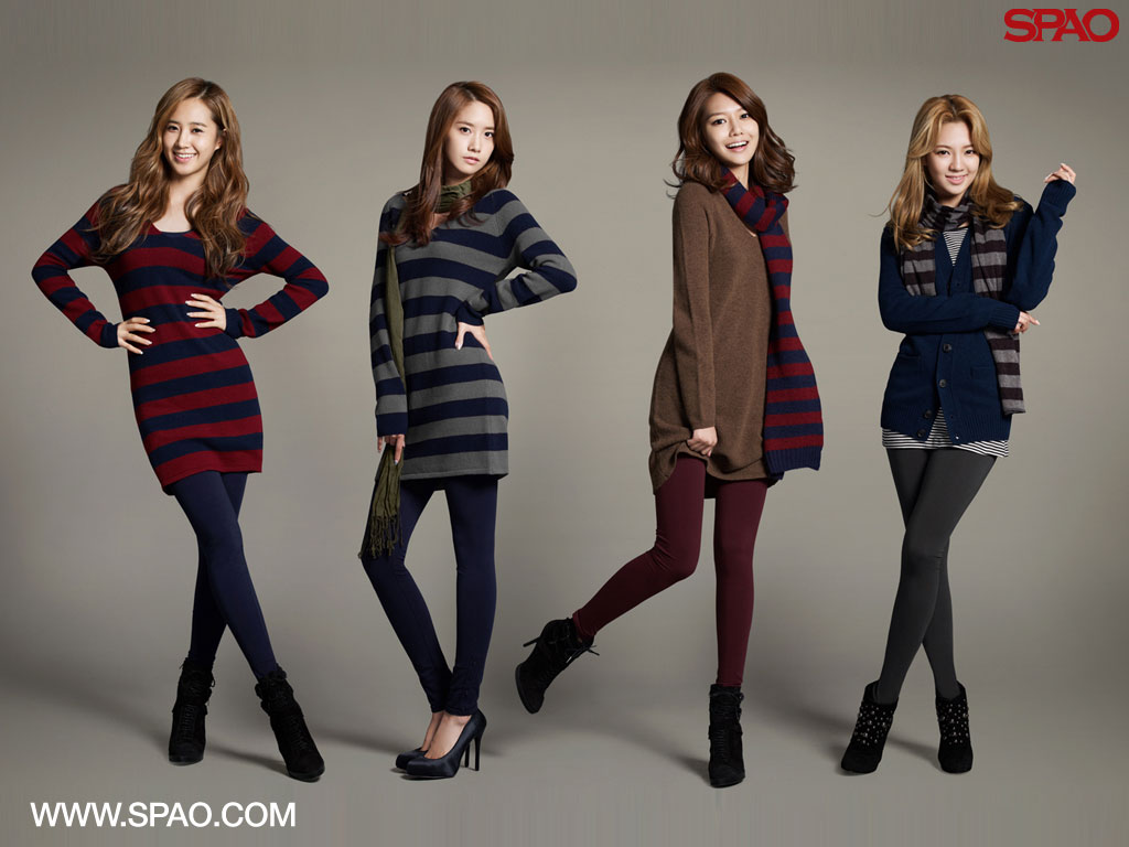 Girls Generation SNSD SPAO wallpaper