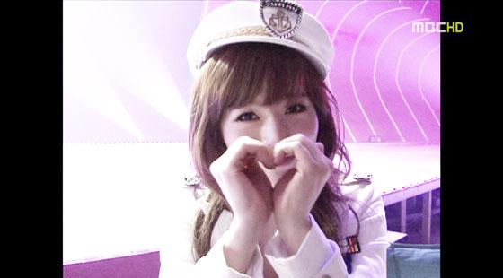 SNSD Sunny Genie heart aegyo