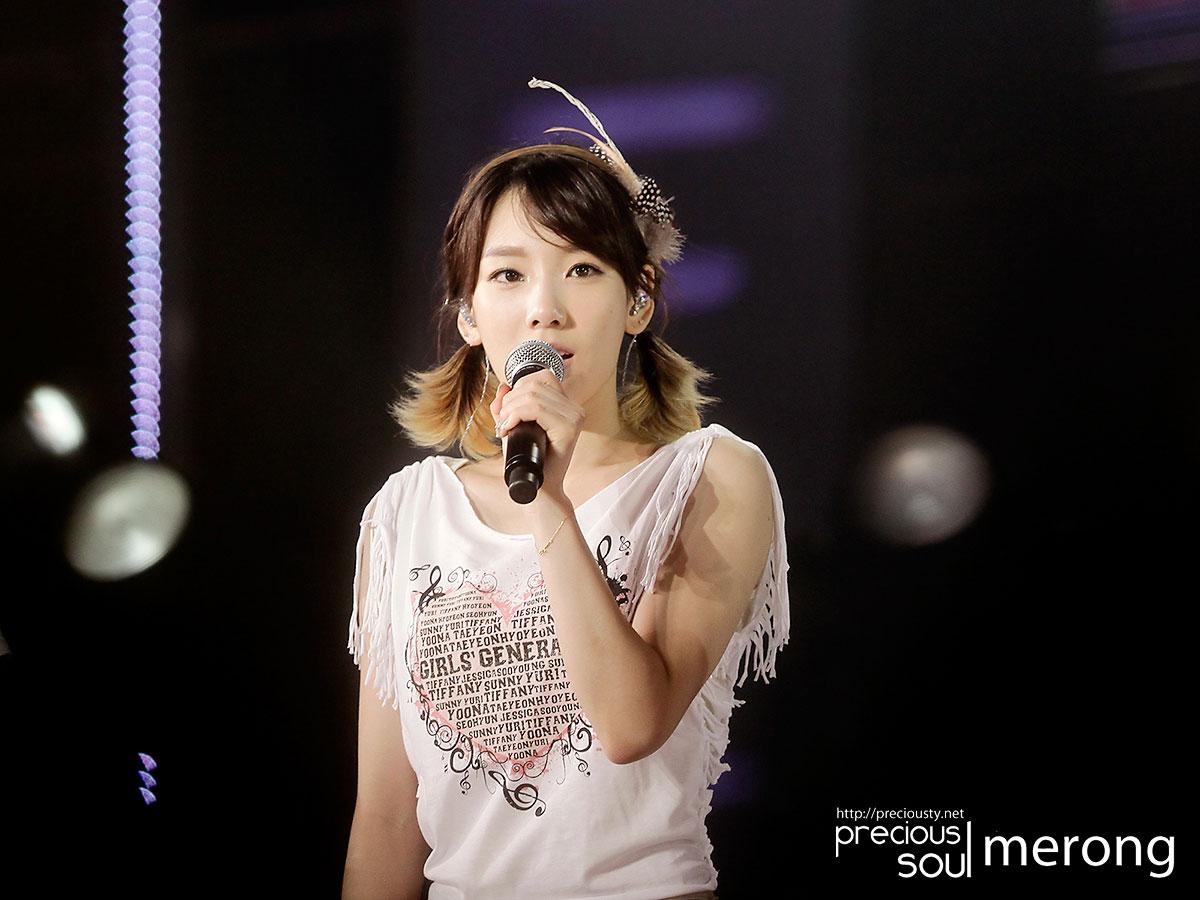 SNSD Taeyeon 2011 Girls Generation Tour in Taiwan