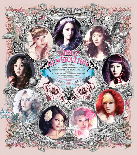 SNSD The Boys album cover
