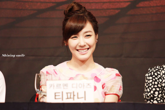 SNSD Tiffany Fame Musical press conference