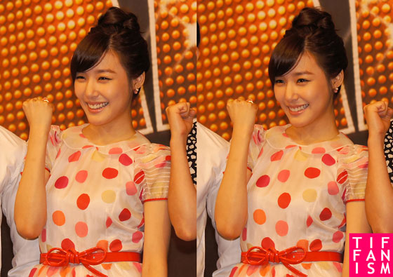 Tiffany Fame Musical press conference
