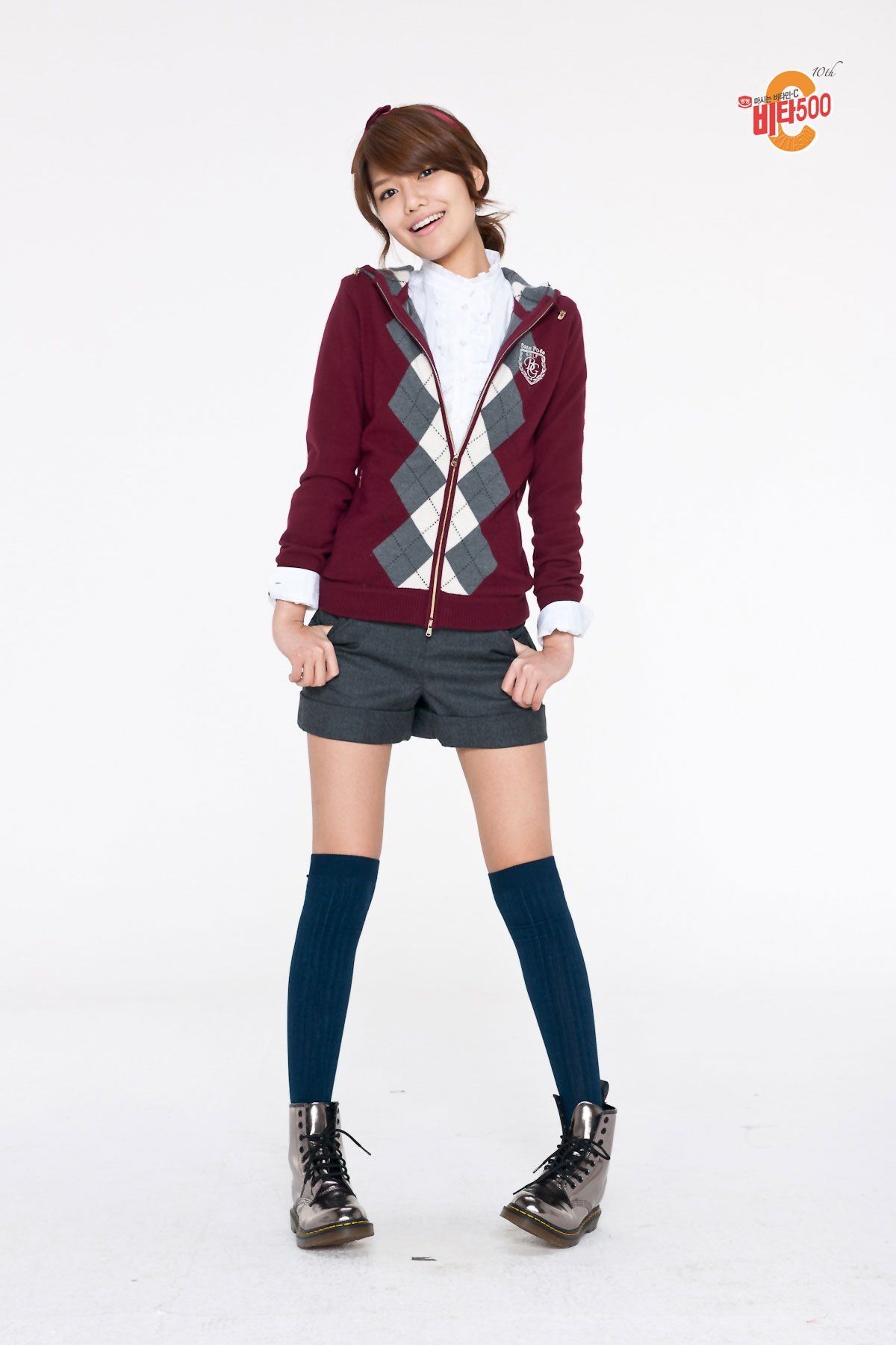 SNSD Sooyoung Vita500 school
