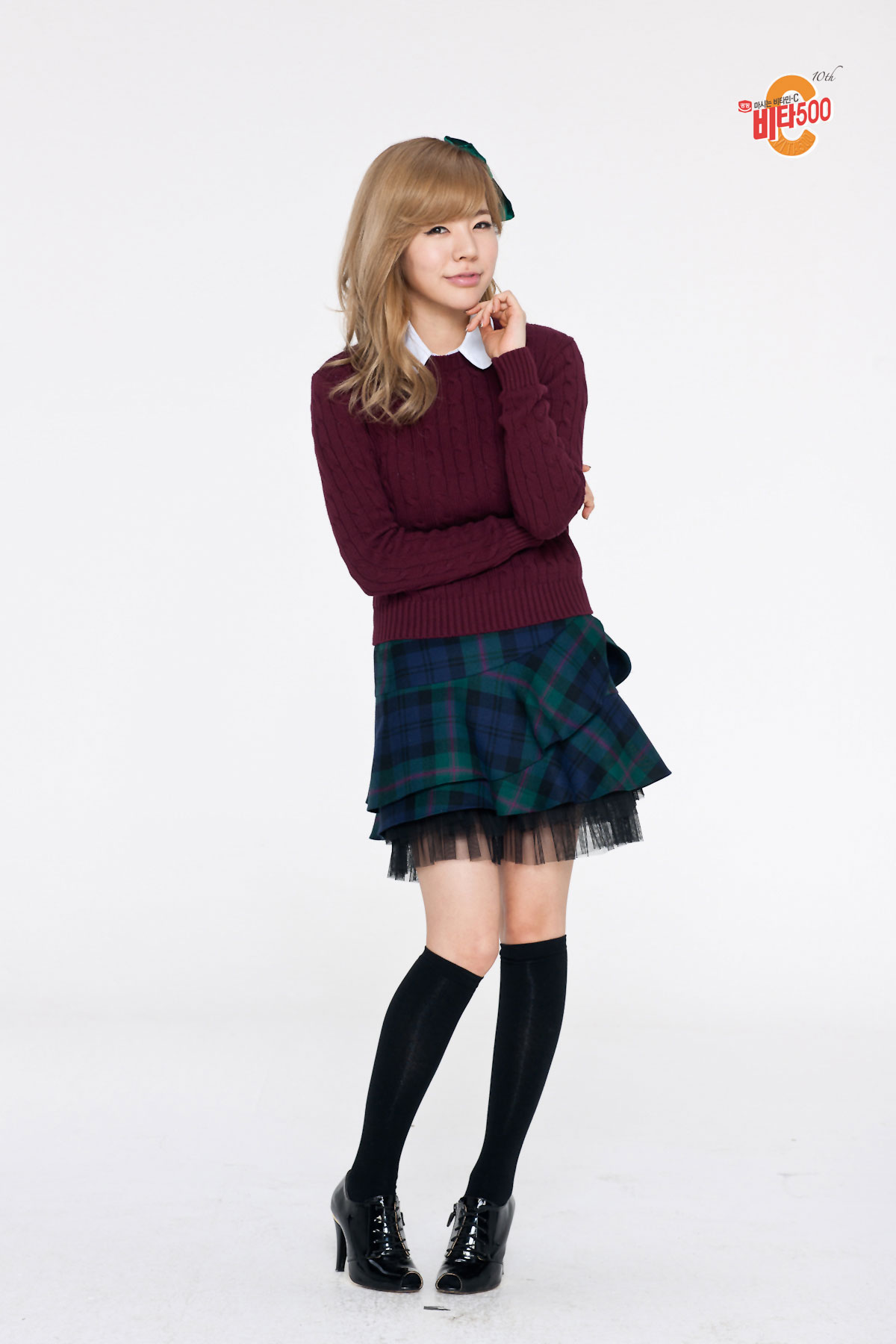 SNSD Sunny Vita500 school