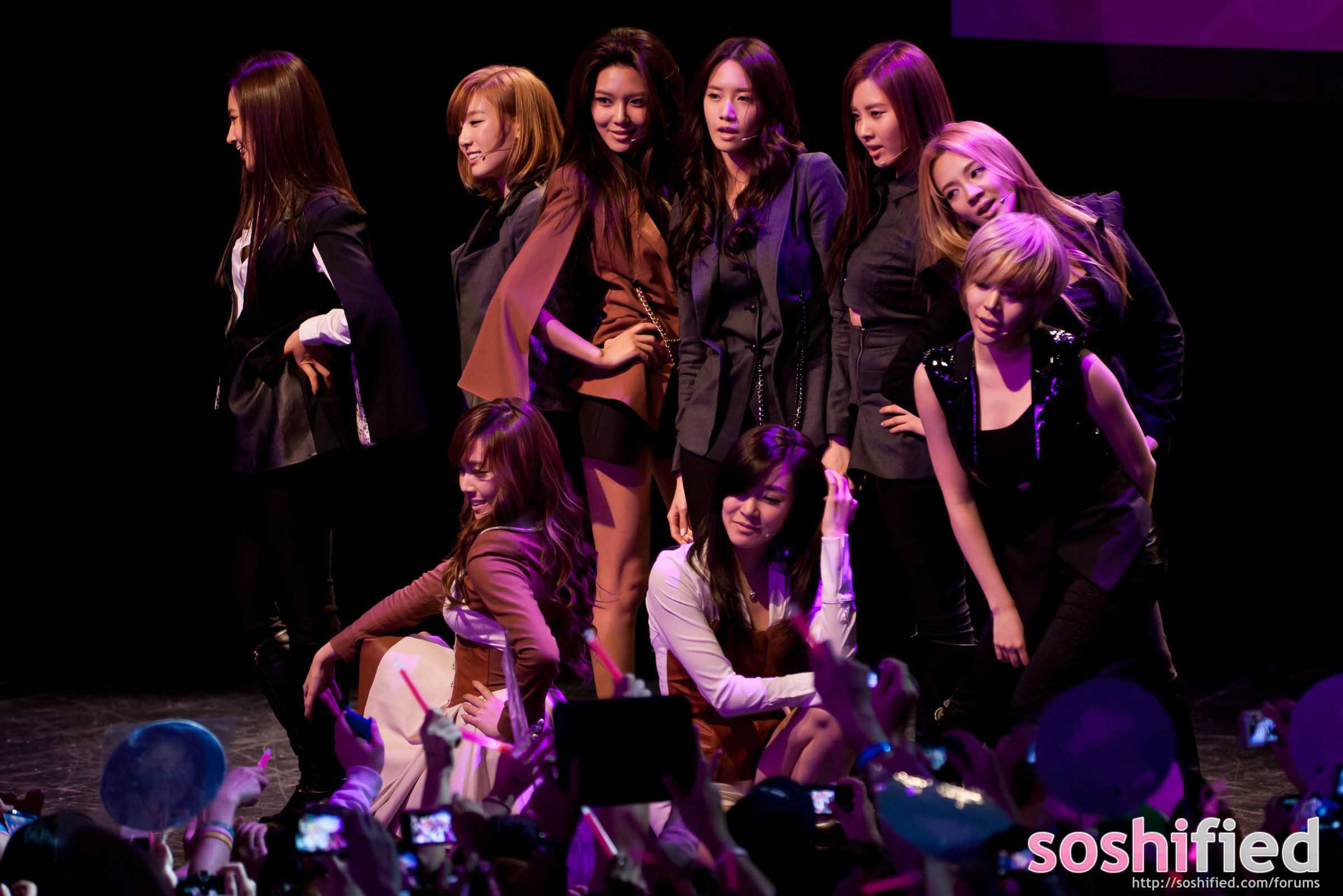 Girls Generation Runs New York