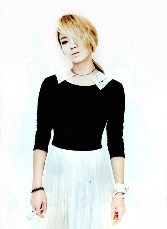 SNSD Hyoyeon Vogue Magazine