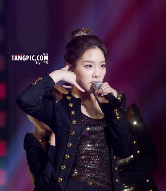 Taeyeon focus @ KBS Joy Concert