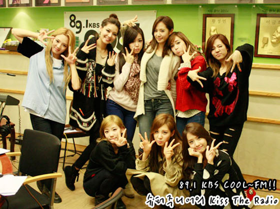 Girls Generation KBS Kiss The Radio
