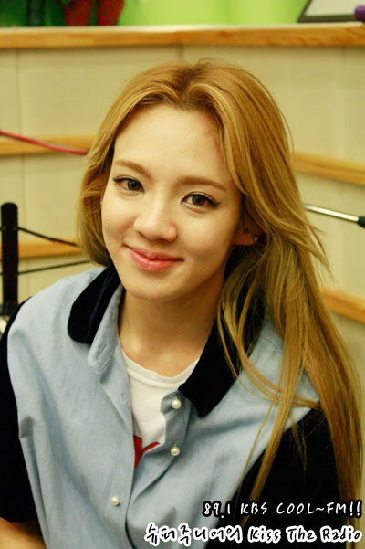 SNSD Hyoyeon Kiss The Radio