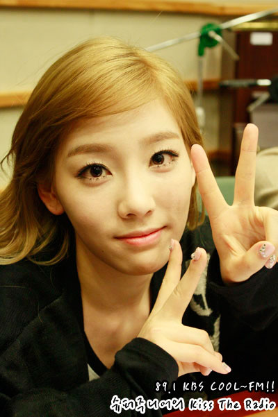 SNSD Taeyeon Kiss The Radio