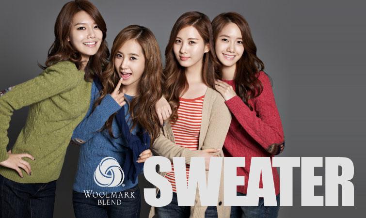 Girls Generation SPAO sweater