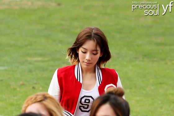 Taeyeon focus @ Busan football