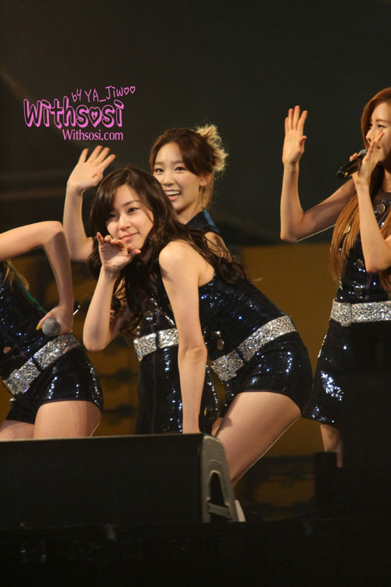 SNSD Tiffany TBS Happy Concert 2011