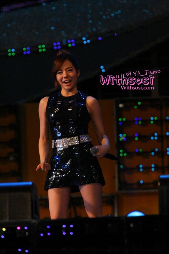 SNSD Sunny TBS Happy Concert 2011