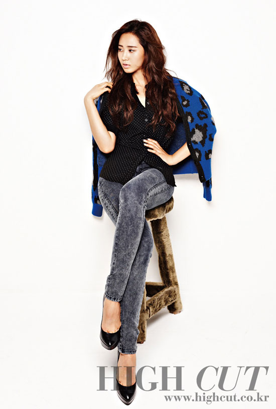Yuri High Cut Magazine