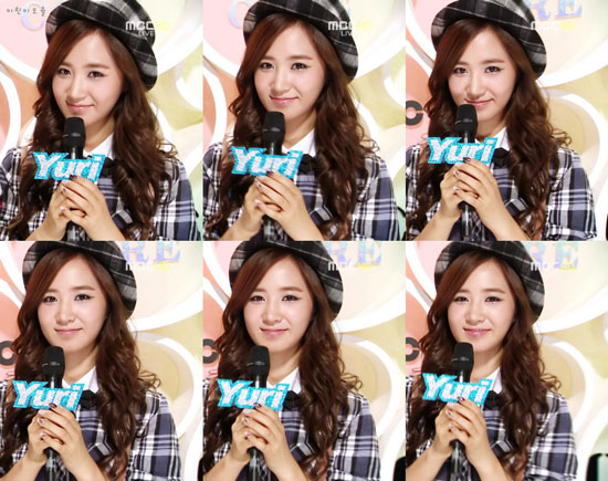 Emcee Yuri @ MBC Music Core
