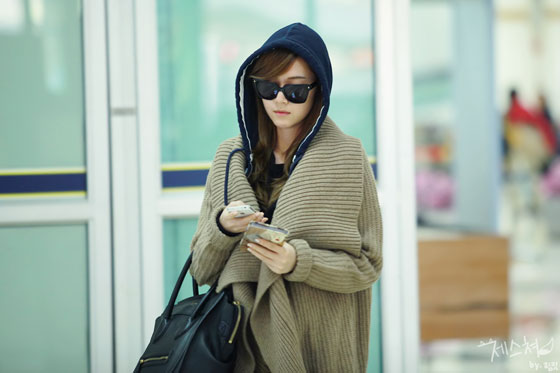 SNSD Jessica Korean Gimpo Airport