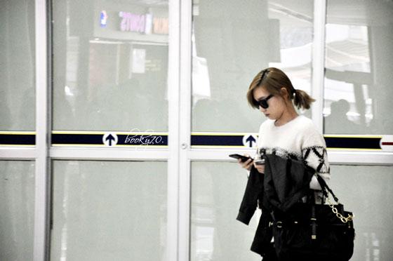 SNSD Taeyeon Korean Gimpo Airport