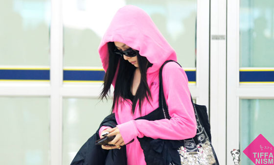 SNSD Tiffany Korean Gimpo Airport