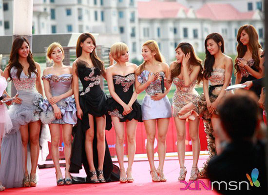 SNSD Mnet Asian Music Awards Singapore 2011