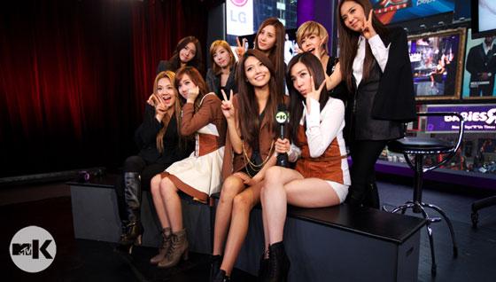 Girls Generation MTV Studio in New York