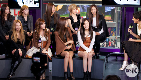 Girls Generation MTV Studio in New York