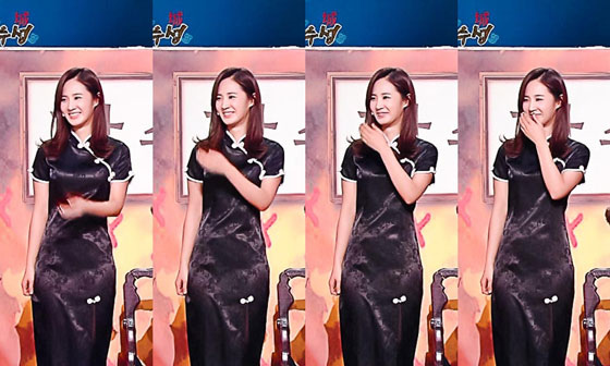 Sooyoung and Yuri KBS Gag Concert