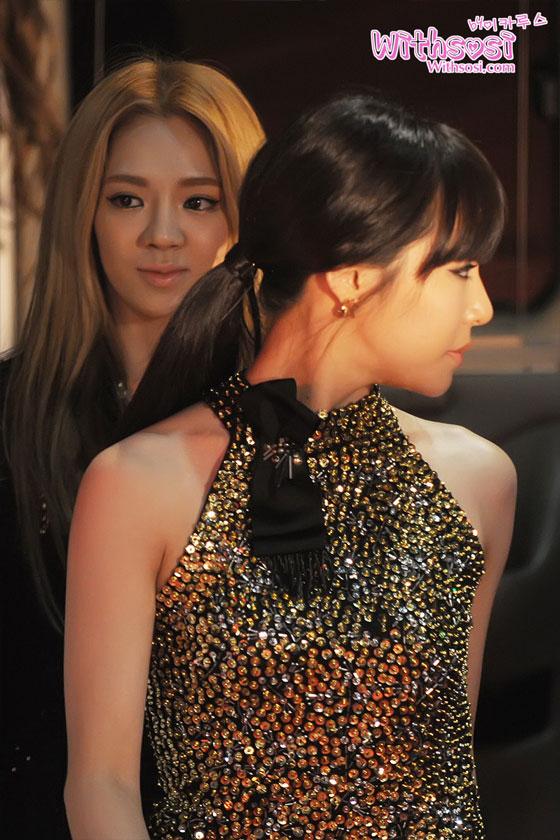 SNSD Tiffany Style Icon Awards