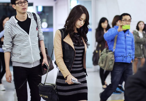 Yoona Incheon Airport to Australia
