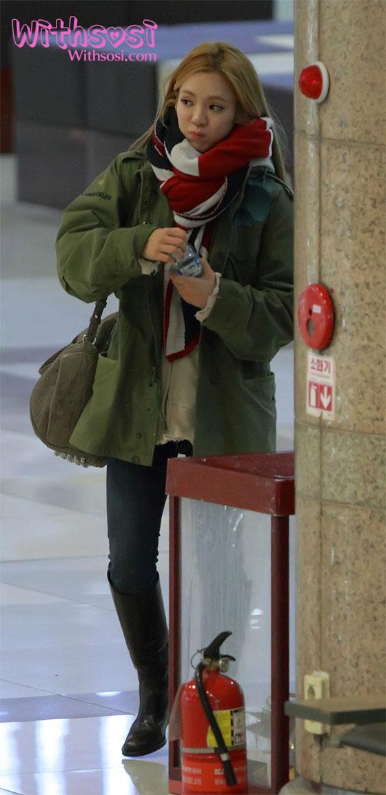 SNSD Hyoyeon Gimpo Airport