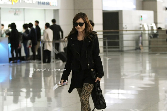 SNSD Jessica Incheon Airport