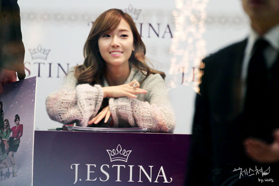 SNSD Jessica Jestina fan signing