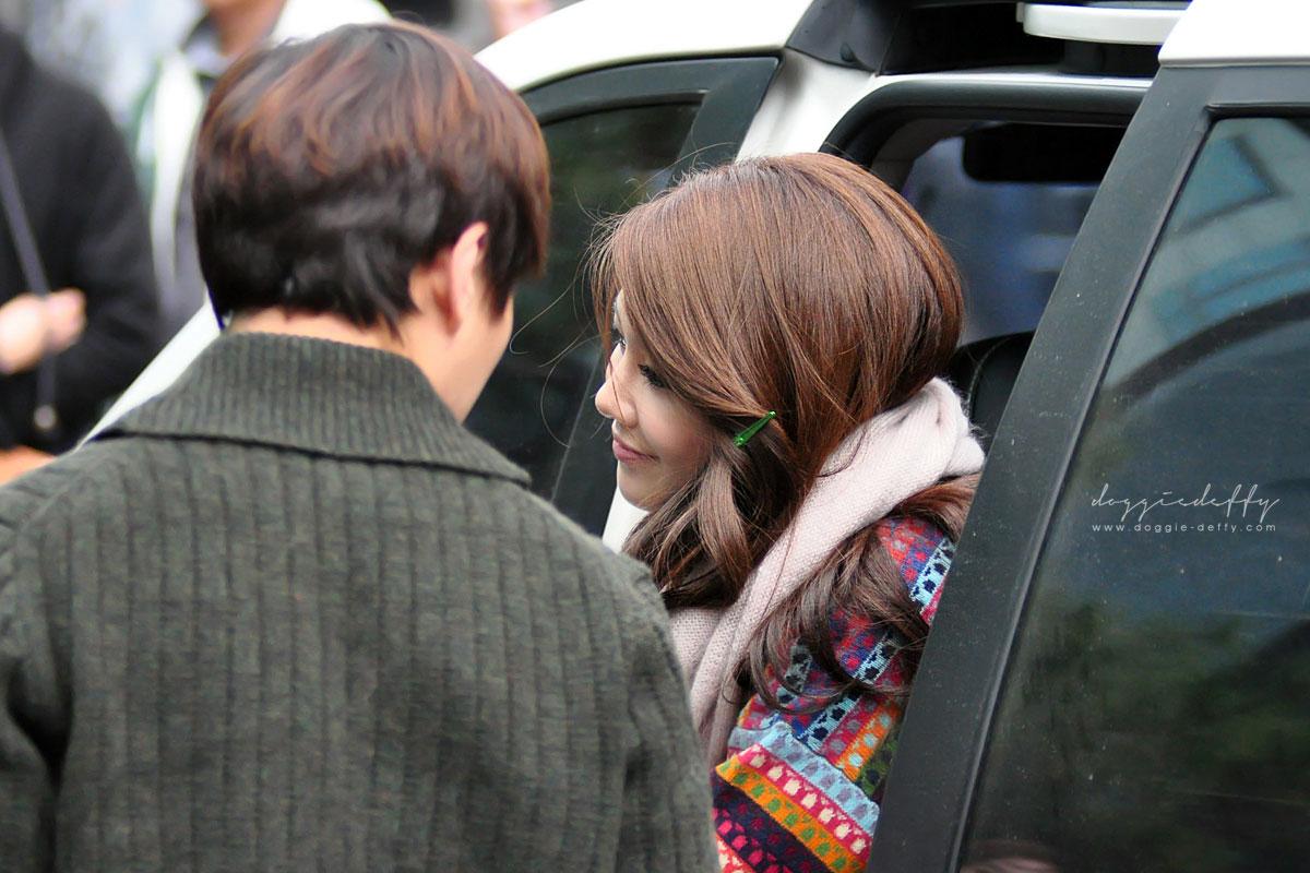 KBS Music Bank arrival 2011.11.18