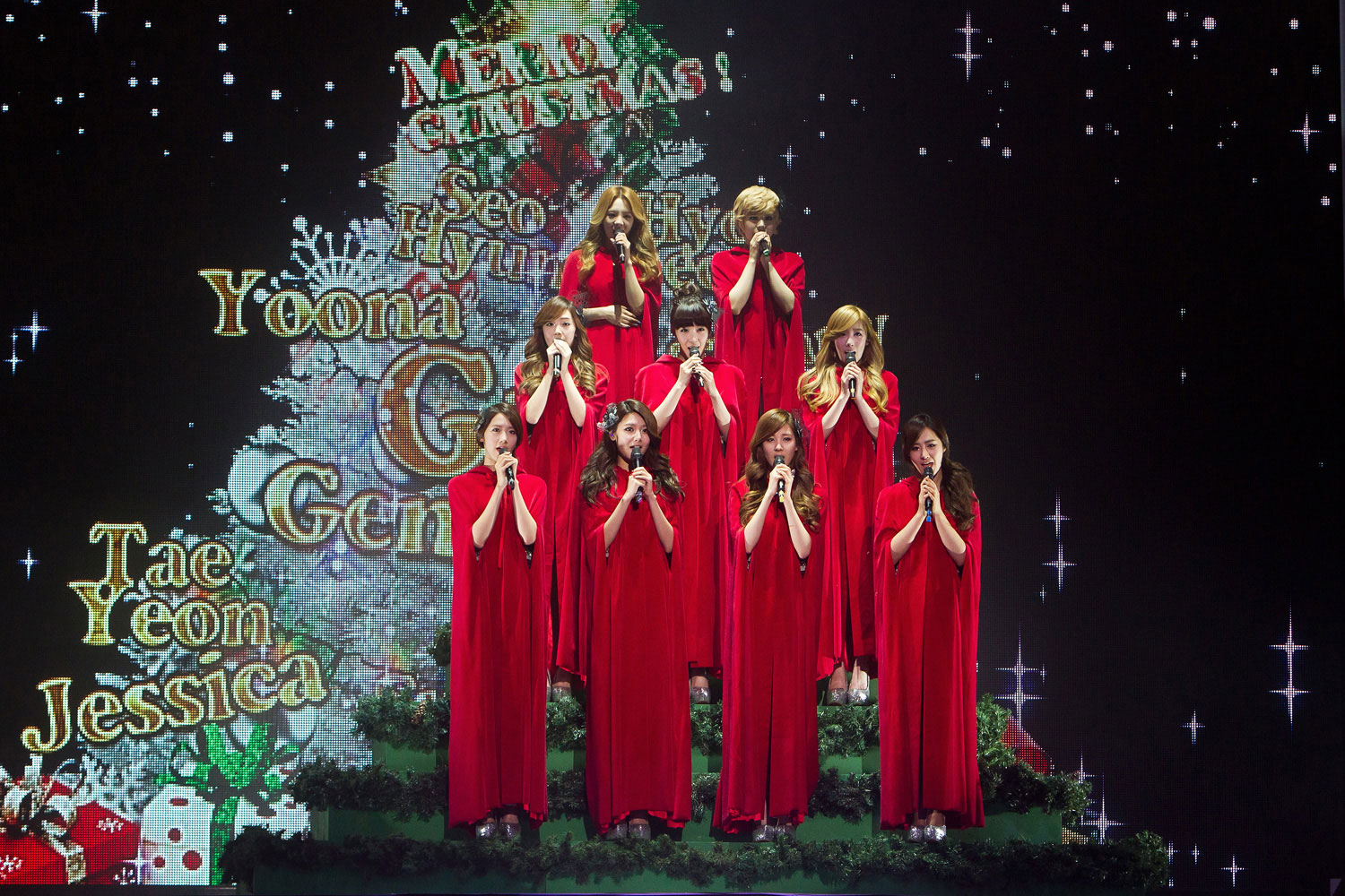Girls Generation MBC Christmas special