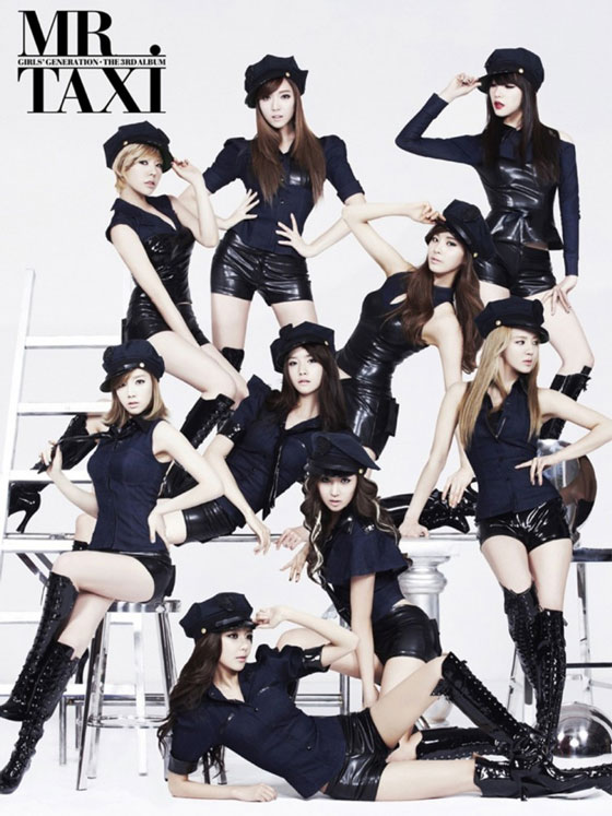 Girls Generation Mr Taxi Korean album