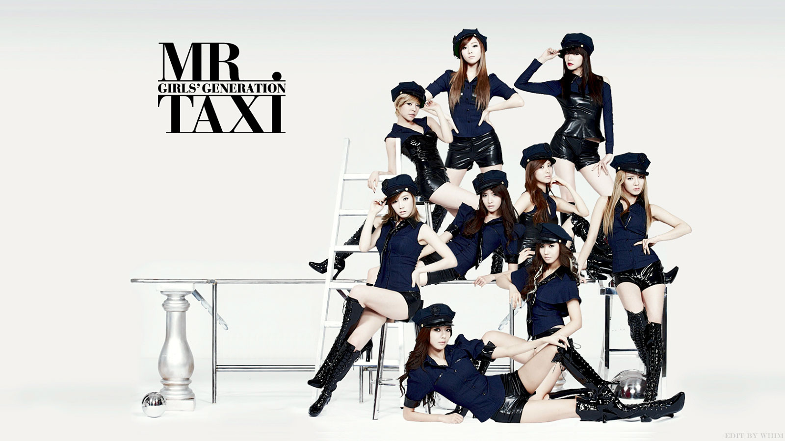 Girls Generation mr mr Album Cover Girls Generation mr Taxi