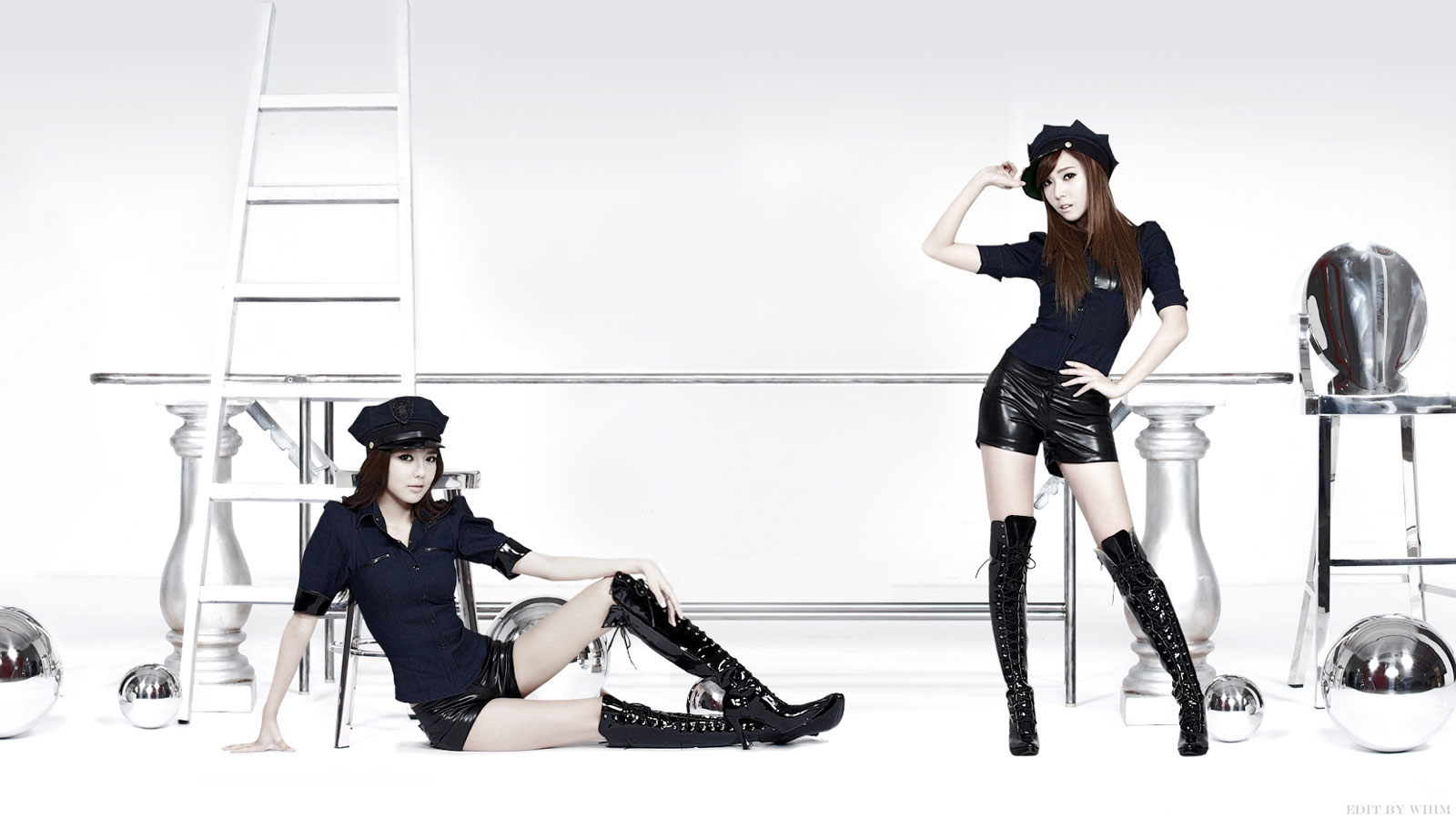 SNSD Sooyoung and Jessica Mr Taxi wallpaper