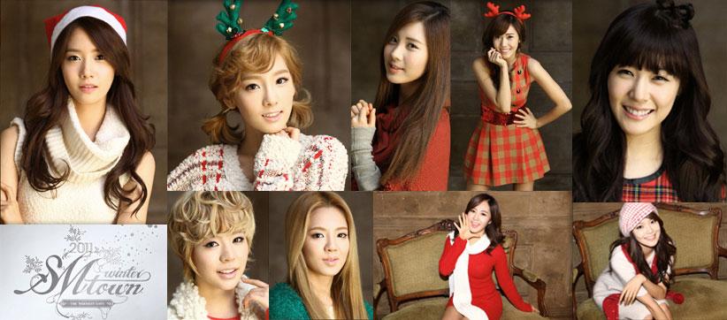 SNSD - Girls' Generation - Thiếu nữ thời đại - Page 3 Smtown-winter-2011-snsd