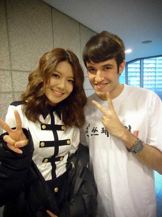 SNSD Sooyoung and DJ Masa Carlos