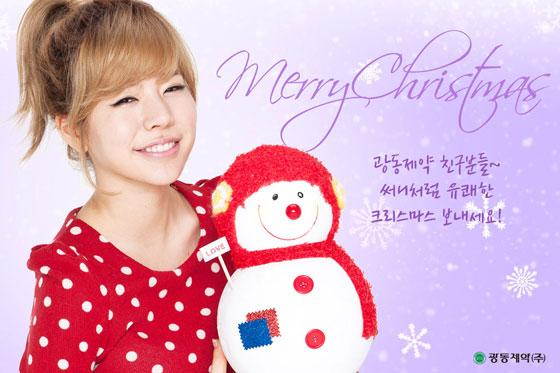 SNSD Sunny Vita500 Christmas