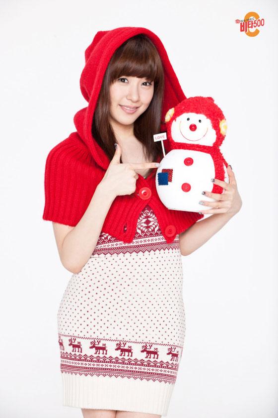 SNSD Tiffany Vita500 Xmas