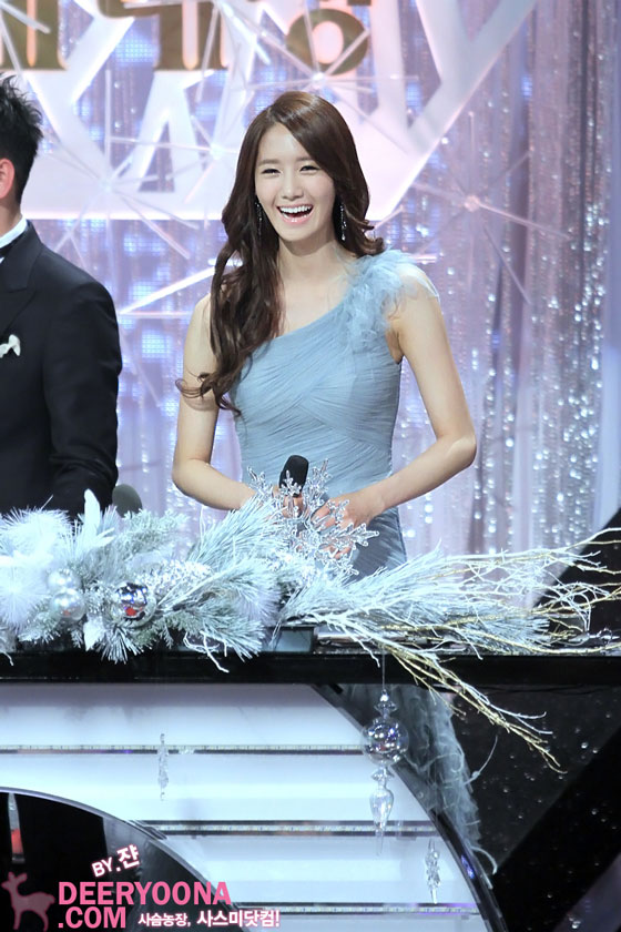 MC Yoona @ KBS Entertainment Awards