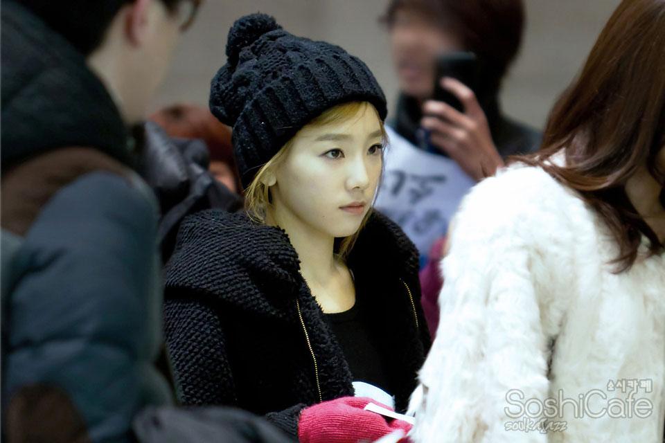 SNSD Taeyeon Gimpo Airport