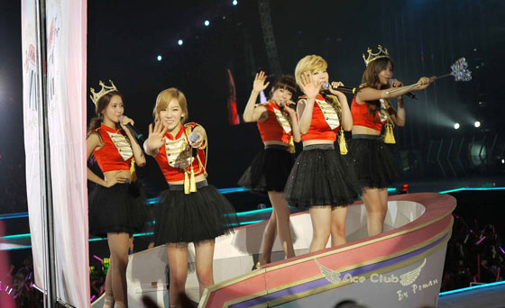 Girls Generation Tour in Hong Kong 2012