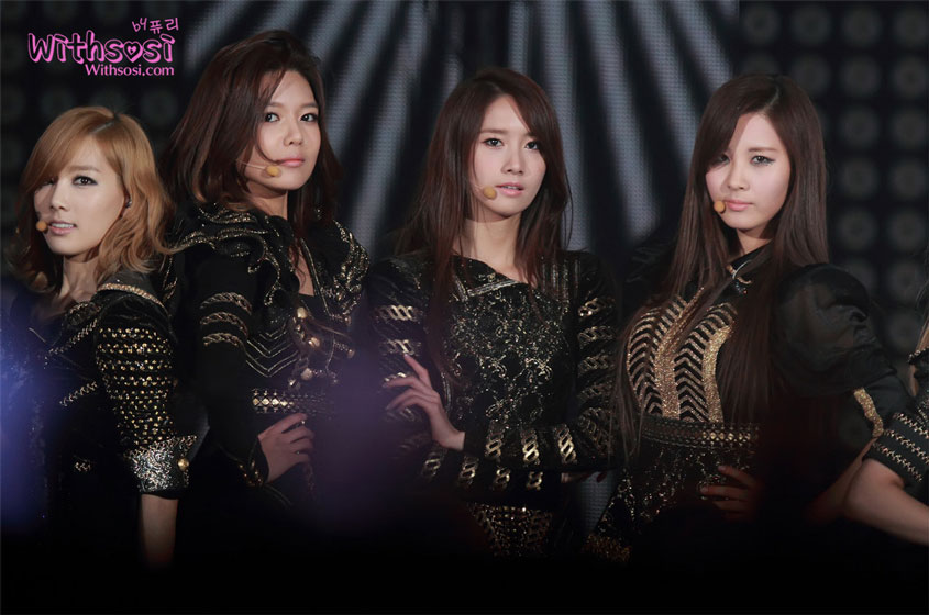 Girls Generation SBS Gayo Daejun 2011