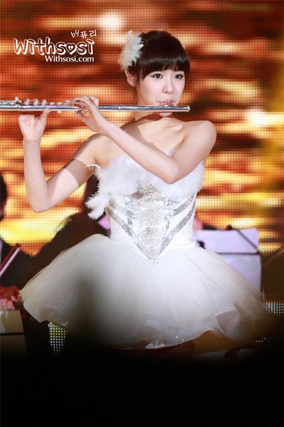 SNSD Tiffany SBS Gayo Daejun 2011