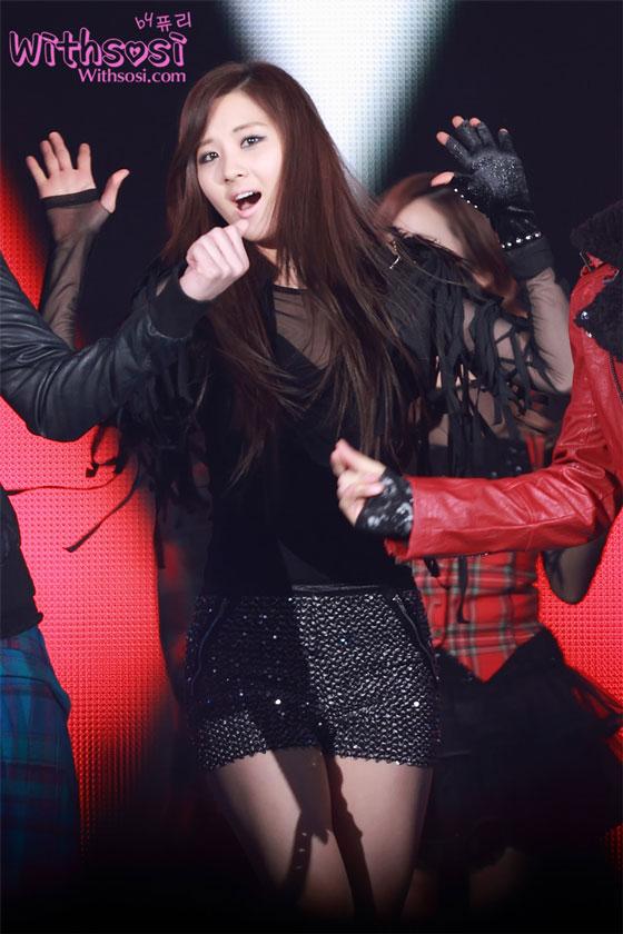 SNSD Seohyun SBS Gayo Daejun 2011