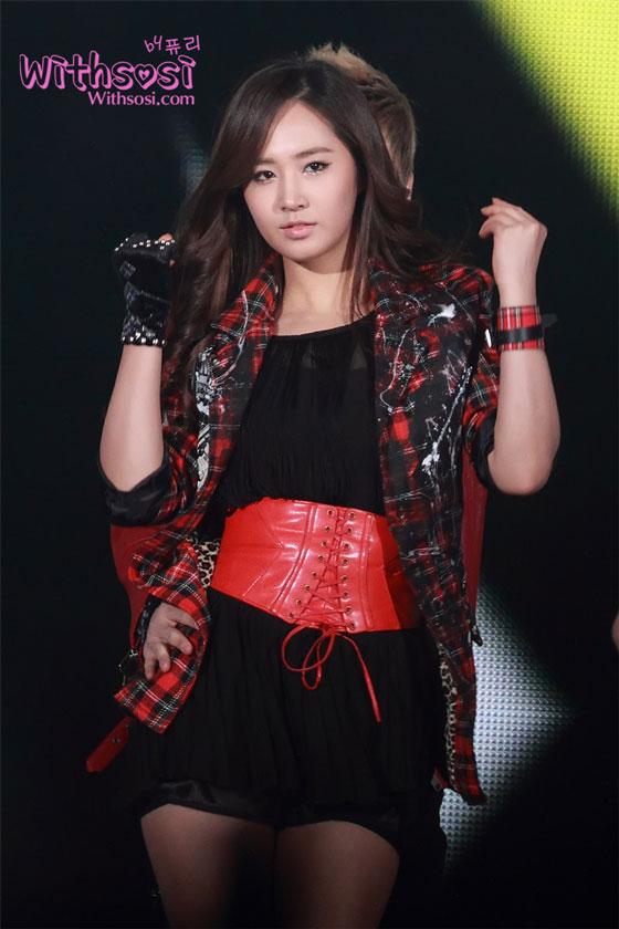 SNSD Yuri SBS Gayo Daejun 2011