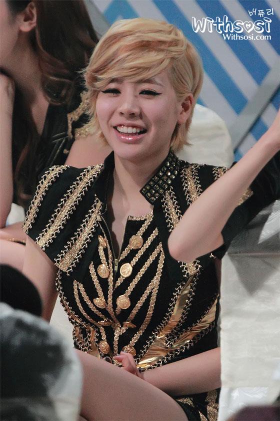 SNSD Sunny SBS Gayo Daejun 2011