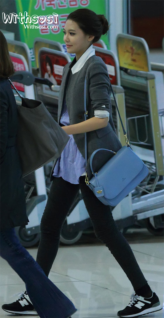 images of Sooyoung Focused Pics From Gimpo Airport January